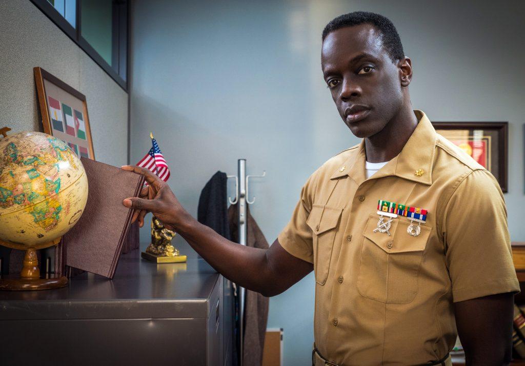Ato Essandoh dans le rôle de Trey Ferry