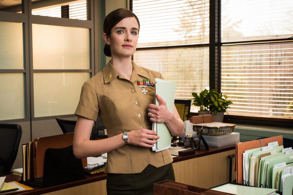 Anna Woods dans le rôle de Maya Dobbins